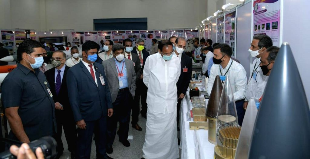 Integrated weapons system launched in Hyderabad.