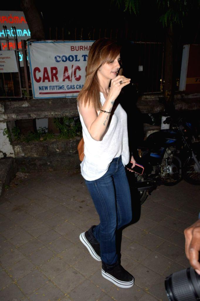 Interior designer Sussanne Khan seen at Juhu, in Mumbai on Nov 27, 2019. - Sussanne Khan