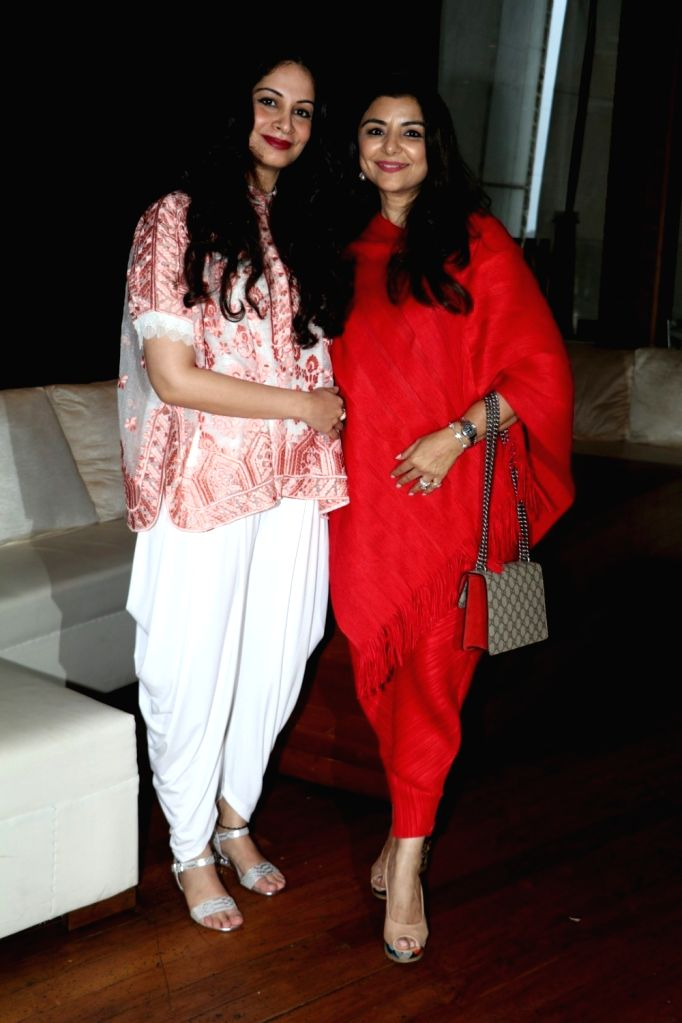 Interior Designers Priyanka Soorma and Yasmin Morani during the announcement of Cineyug's first edition of luxury and lifestyle exhibition Joya curated by Yasmin Morani and Priyanka Soorma, ...