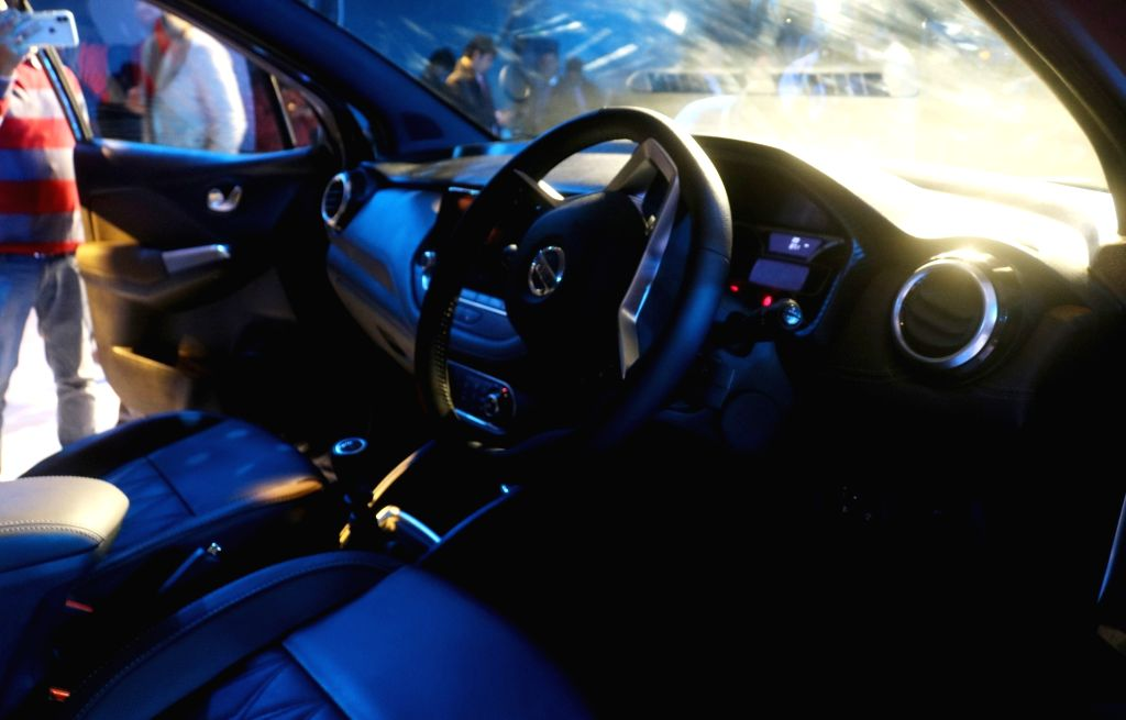Interiors of the newly launched Nissan Kicks SUV in New Delhi, on Jan 22, 2019.