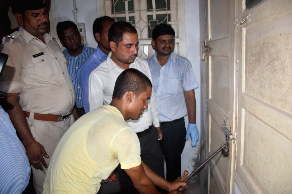 Investigation underway at shelter home in Muzaffarpur where 34 minor girls housed in the shelter home were raped; in Muzaffarpur on Aug 1, 2018.