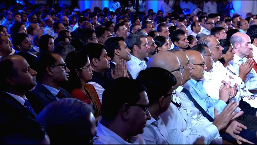 Investors at Reliance Industries' (RIL) 42nd Annual General Meeting in Mumbai on Aug 12, 2019.