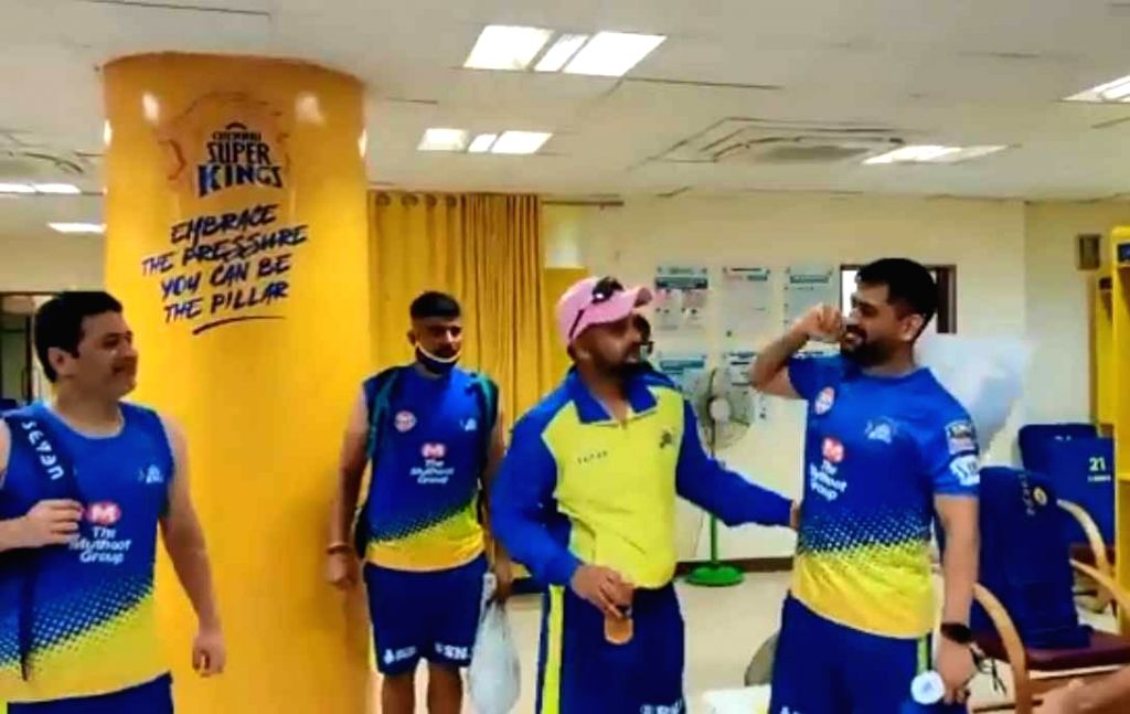 IPL 13: CSK shares video of Dhoni, Raina during camp.