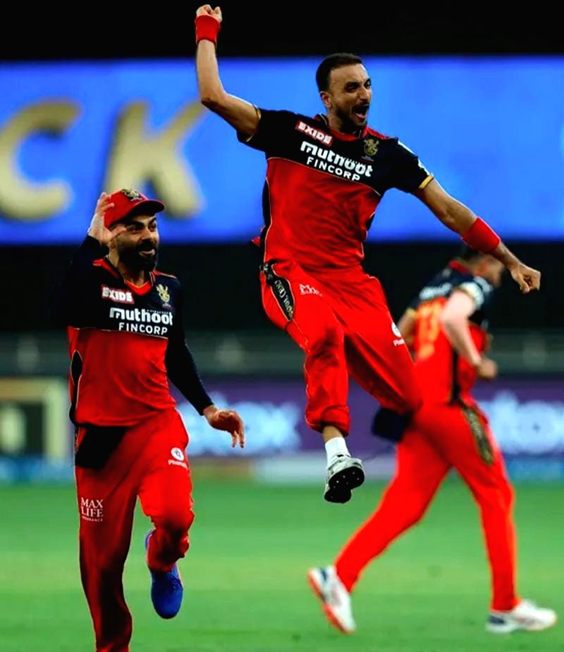 IPL 2021: A look at Harshal Patel's magnificent hat-trick in the 17th over - Harshal Patel