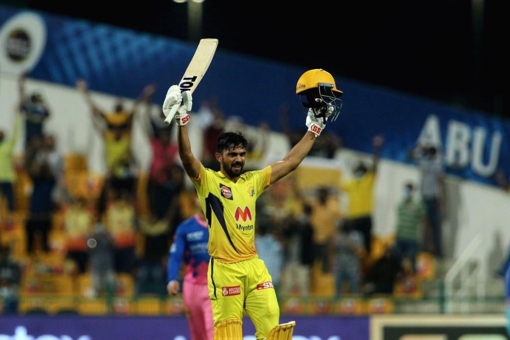 IPL 2021: Gaikwad gets century on final ball as Chennai finish at