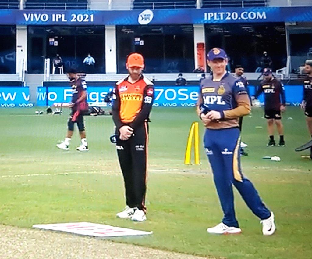 IPL 2021 Hyderabad win toss, elect to bat first against Kolkata.