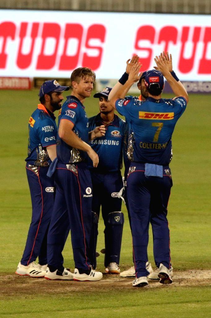IPL 2021: Kishan, Coulter-Nile power Mumbai to 8-wicket, keep playoff hopes alive