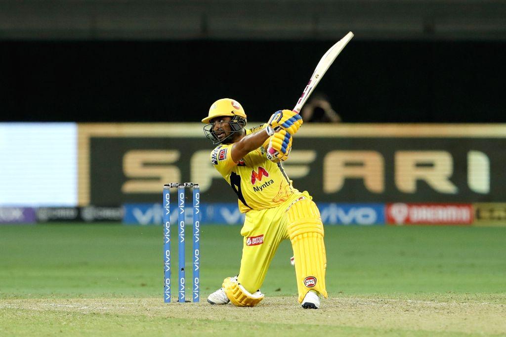 IPL 2021: Rayudu's half-century carries Chennai to 136/5