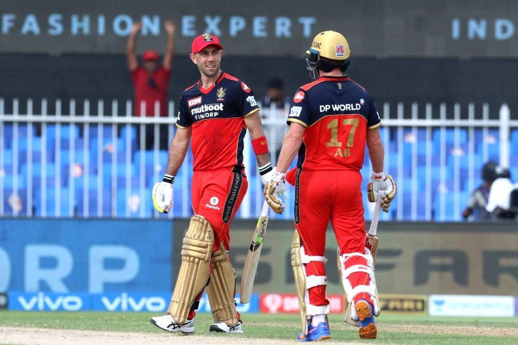IPL 2021 RCB post 164/7 against Punjab Kings.