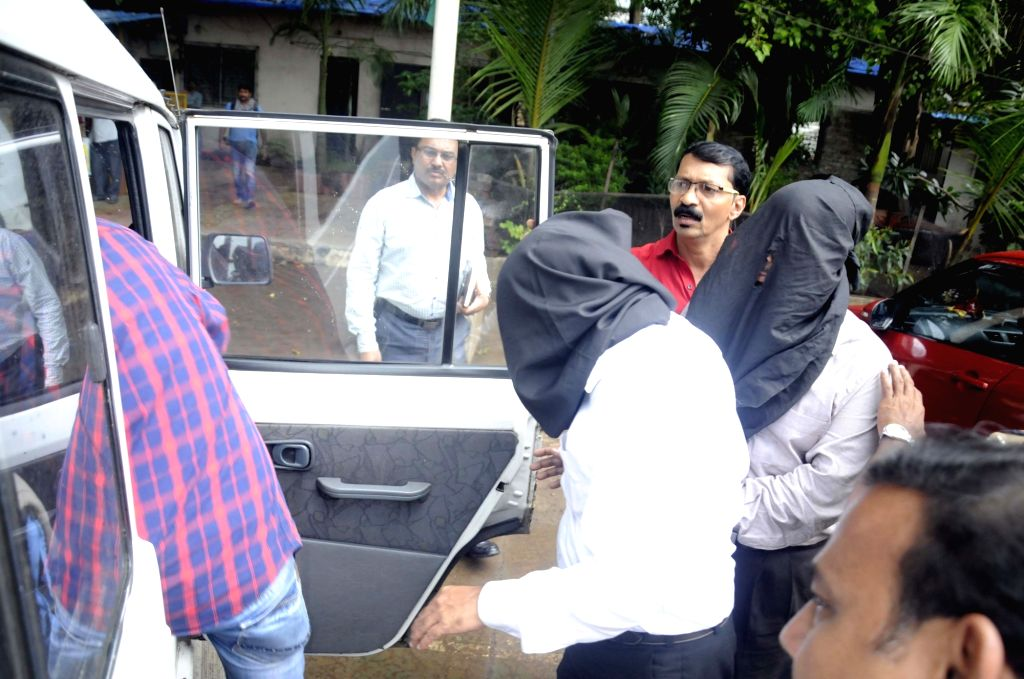 Iqbal Ibrahim Kaskar, brother of absconding mafia don Dawood Ibrahim Kaskar and a close relative, Mumtaz Eijaz Shaikh and another associate Israr Al-Jamil Sayyad were arrested by a crack team ... - Pradeep Sharma