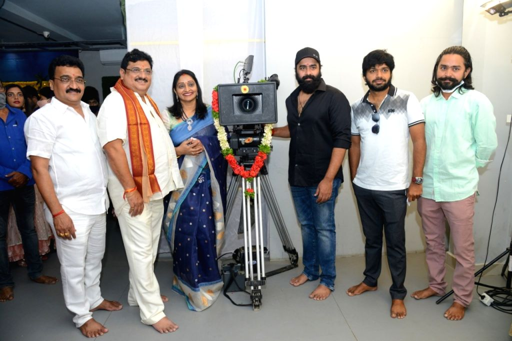 IRA Creations proudction No 4 launched today at Hyderabad.