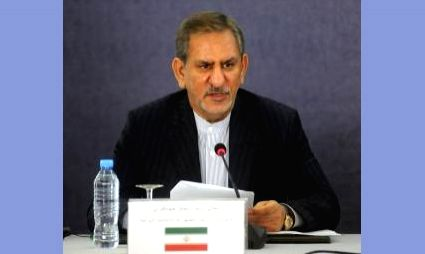 Iran's First Vice-President Eshaq Jahangiri.