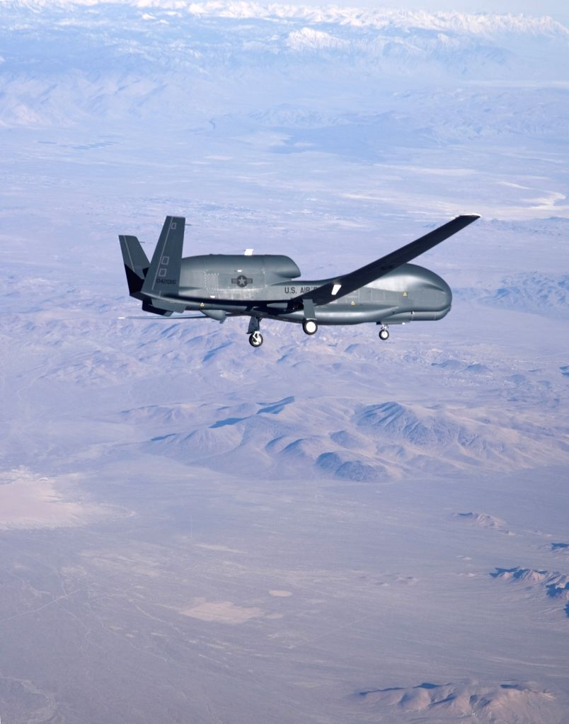 Iran shot down on Thursday, June 20, 2019, an American surveillance drone. It was a Northrop Grumman RQ-4 Global Hawk unmanned craft like this one. (File photo: Northrop Grumman)