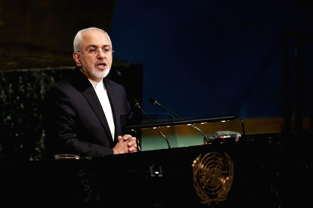 Iranian Foreign Minister Mohammad Javad Zarif . (File Photo: Xinhua/Li Muzi/IANS) - Mohammad Javad Zarif