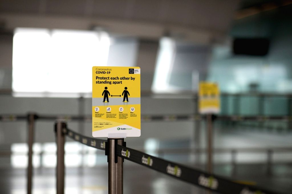 Ireland's mandatory quarantine measure comes into force. (Credit: twitter.com/DublinAirport)