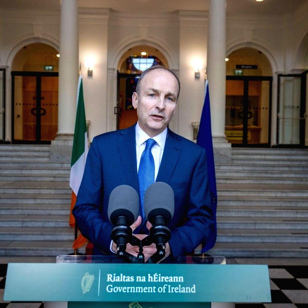 Irish Prime Minister Micheal Martin. - Micheal Martin
