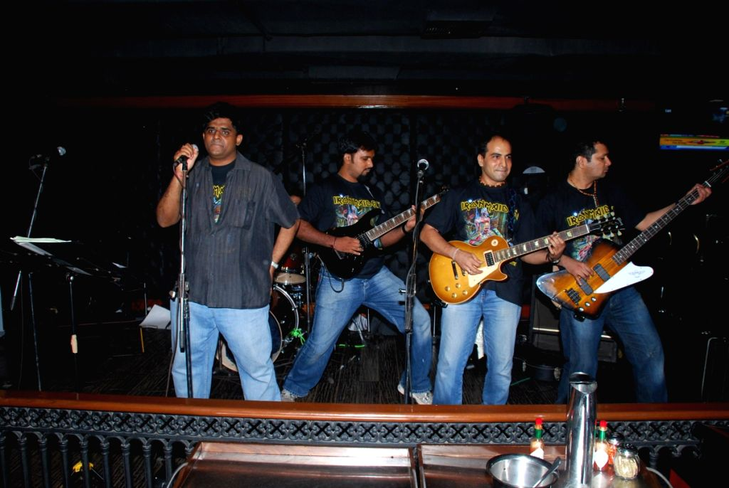 Iron Maiden Tribute with band One Night Stand at Firangi Paani.
