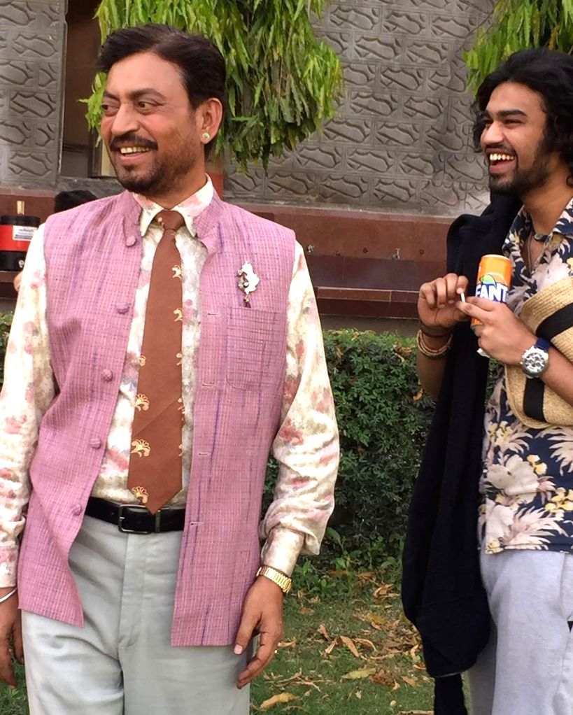 Irrfan's son Babil shares throwback pics of 'baba