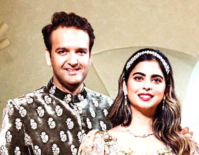 :Isha Ambani and Anand Piramal..
