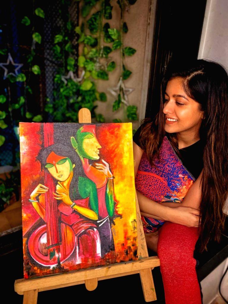 Ishita Dutta is enjoying doing her favourite things.