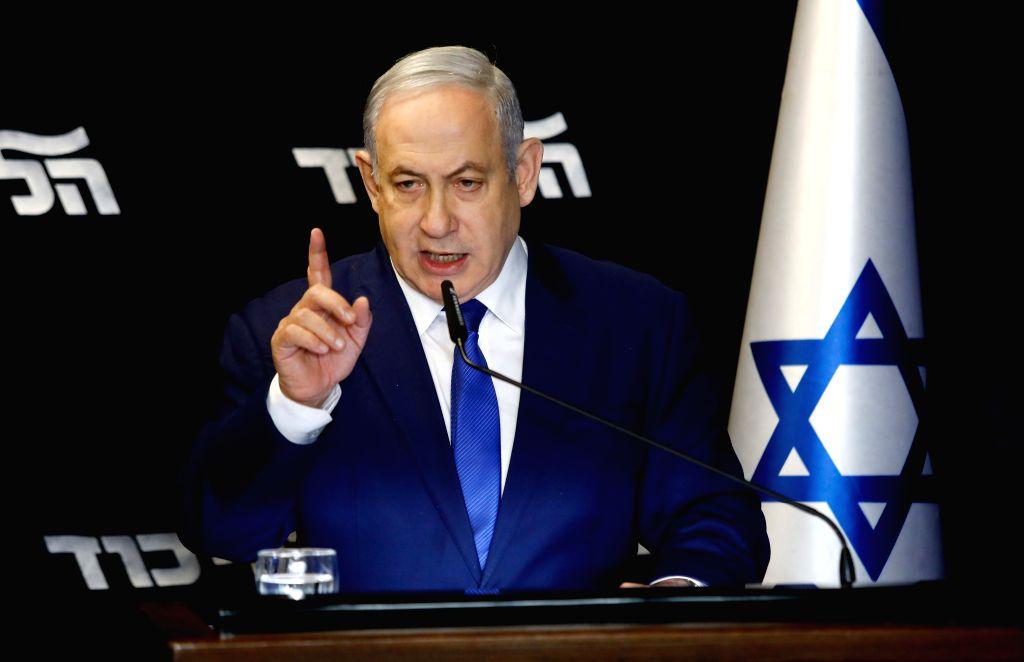 Israel has had secret talks with Arab countries: Netanyahu. (JINI via Xinhua)/IANS)