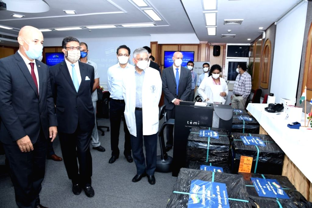 Israel shares ground-breaking technology with AIIMS to tackle Covid.