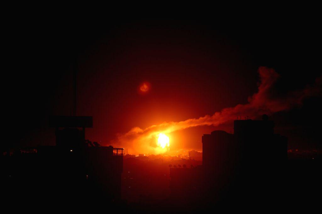 Israel strikes Hamas sites in retaliation
