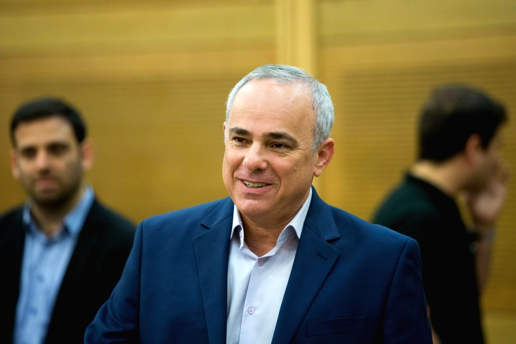 Israeli Minister of Energy Yuval Steinitz attends a Likud faction meeting at Israeli Knesset (parliament) in Jerusalem, on July 27, 2015. Israel rejected on ...