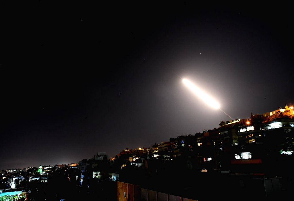 Israeli missile attack targets Syrian capital