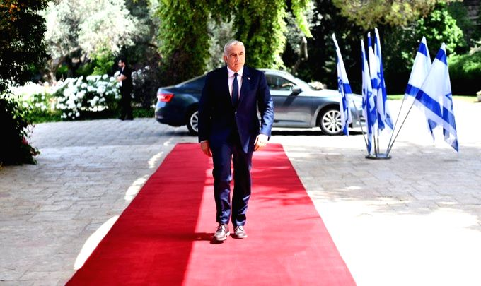 Israeli President Reuven Rivlin has tasked Prime Minister Benjamin Netanyahu's main rival, Yair Lapid to form government.(pic credit: https://twitter.com/yairlapid) - Benjamin Netanyah