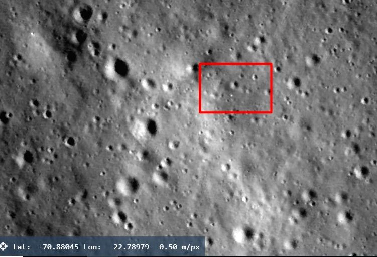 ISRO checking space enthusiast's claim of moon rover rolling on lunar surface.