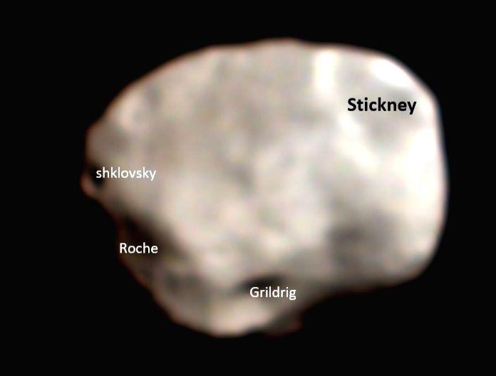 ISRO releases image of Phobos, the closet, biggest moon of Mars.
