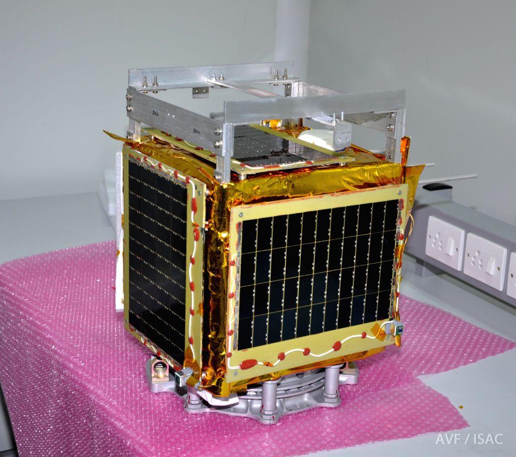 ISRO to launch IIT-B students\' satellite on Monday