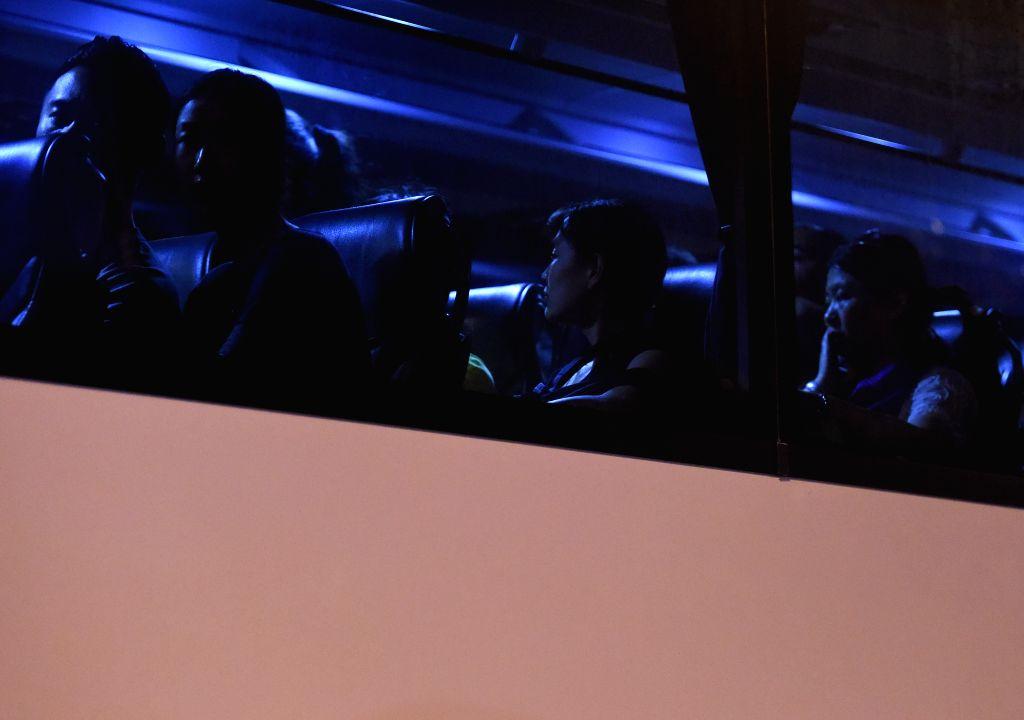 ISTANBUL, June 29, 2016 - Stranded passengers are transferred to nearby hotels from Ataturk International Airport in Istanbul, Turkey, June 29, 2016. Turkish Prime Minister Binali Yildirim on ... - Binali Yildirim