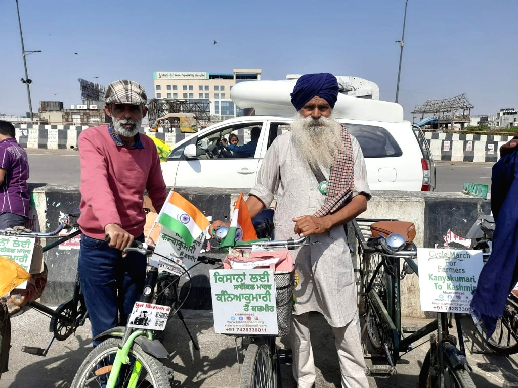 It has been three months since the farmers have been protesting against the Union farm laws at the borders of the national capital. Now, a cycle march will be held across the country to intensify the ...