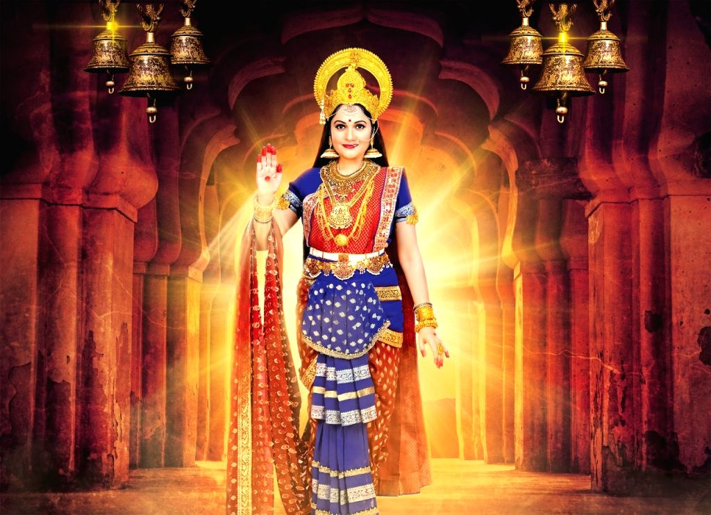 "It is not easy for actress Gracy Singh to play the role of goddess Santoshi Maa on-screen. But she has been working hard to fit into the character for the recently launched TV show ""Santoshi Maa ... - Gracy Singh"