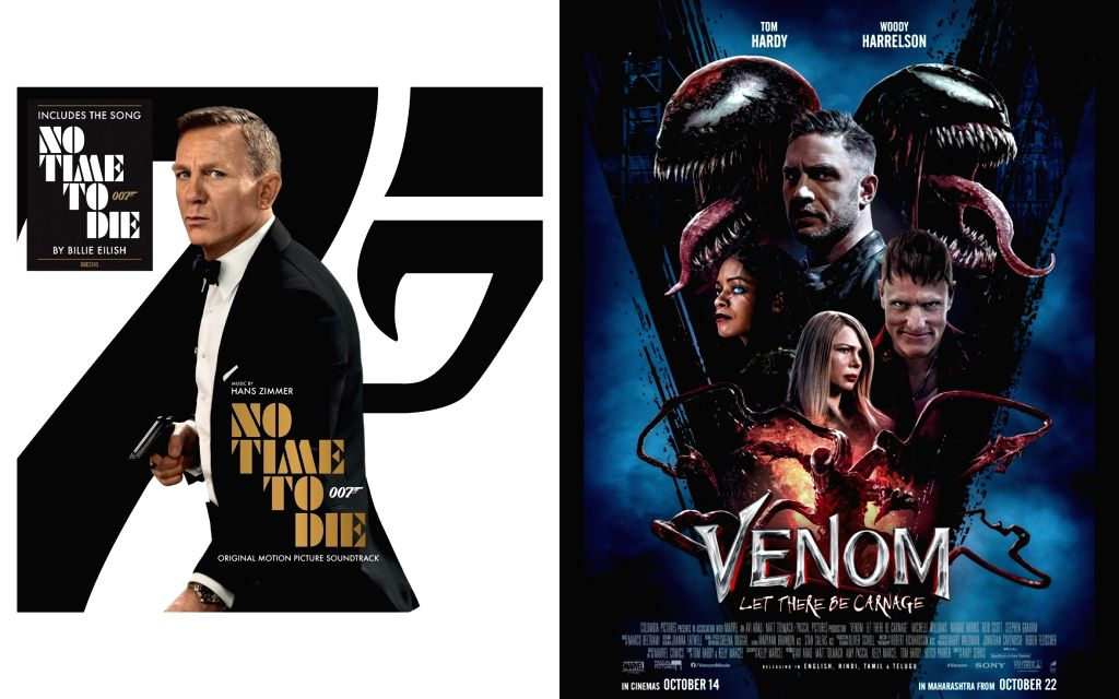 It's raining moolah for 'No Time to Die', 'Venom' sets U.S. box-office record