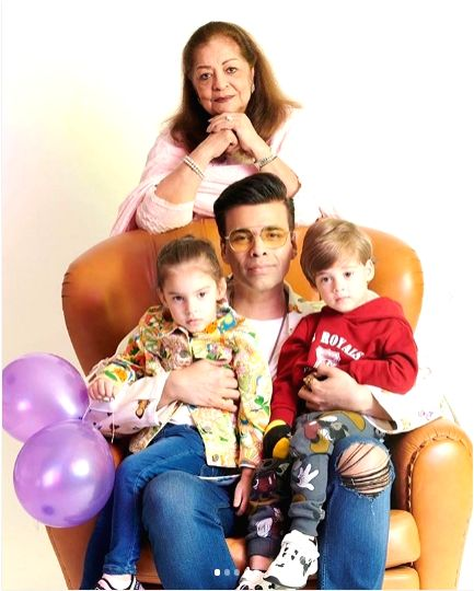 It turned out to be an emotional Friday for filmmaker Karan Johar as his son Yash and daughter Roohi turned 3. - Karan Johar
