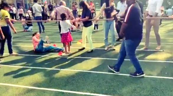 """It was actress Soha Ali Khan's first sport day as a parent and she got a """"little carried"""" while playing tug-of-war at her daughter Inaaya Naumi Kemmu's school. Soha on Friday took to ... - Soha Ali Khan"""