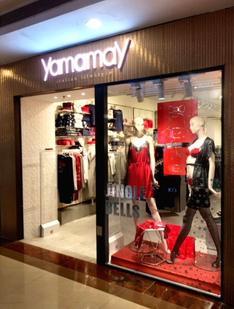 Italian brand Yamamay recently launched its flagship store in India.