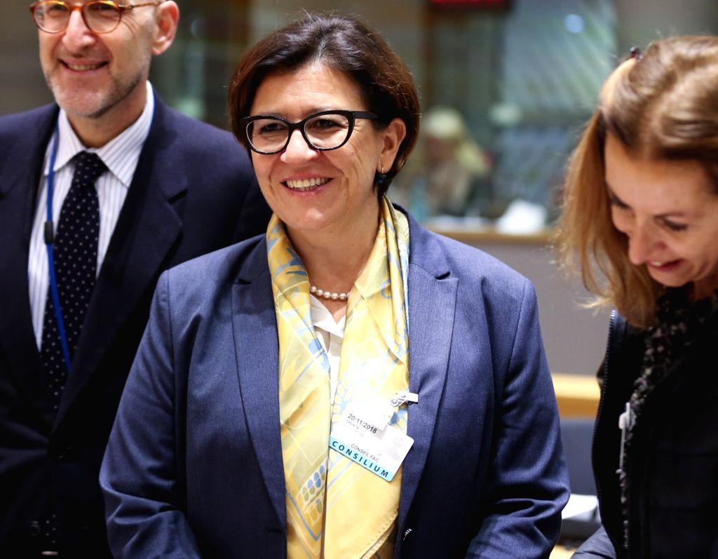 Italian Defense Minister Elisabetta Trenta. (Xinhua/Ye Pingfan/IANS) - Elisabetta Trenta