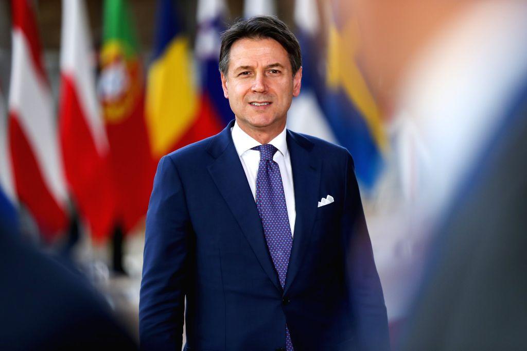 Italian Prime Minister Giuseppe Conte. (Xinhua/Zhang Cheng/IANS) - Giuseppe Conte