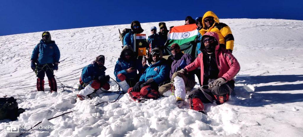 ITBP climbs 21,615 ft Gangotri II peak in Uttarakhand