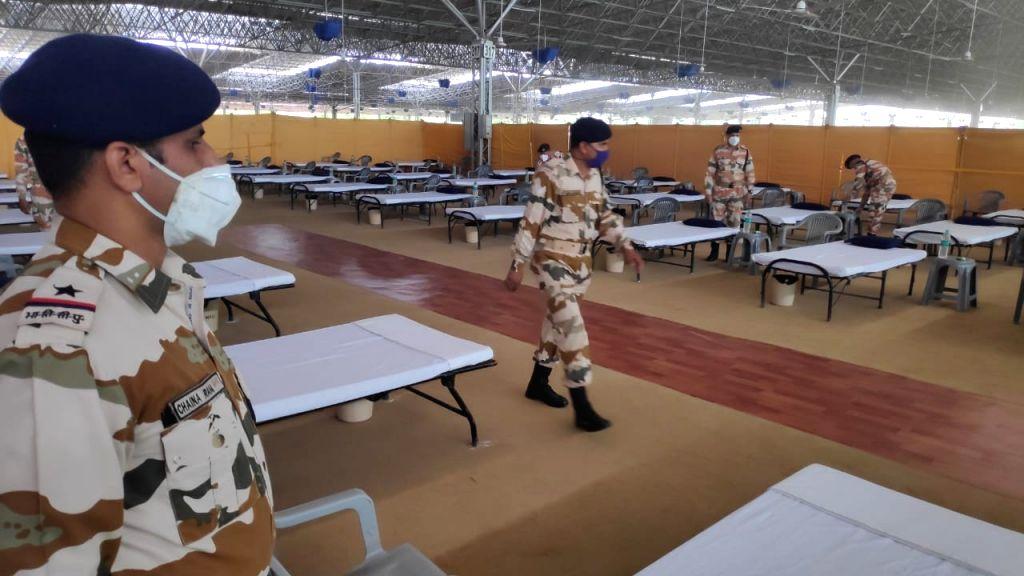 ITBP takes over Radha swami beas for covid facility in Delhi. (Photo Courtesy: ITBP)