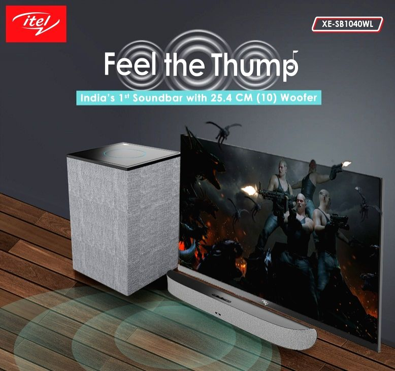 itel forays into home audio category, unveils four new soundbars in India.