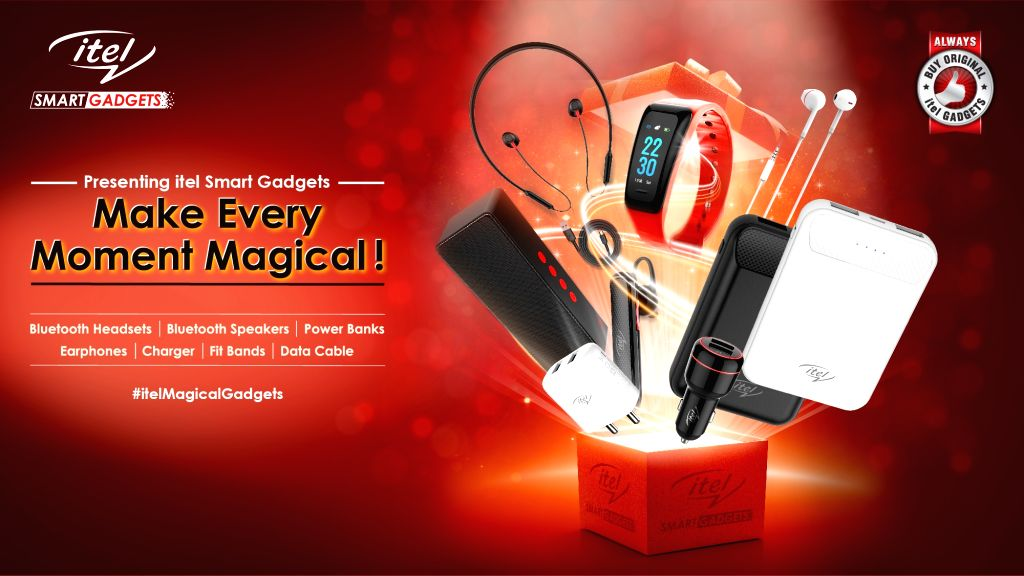 itel launches Smart Gadgets to enhance consumer experience.