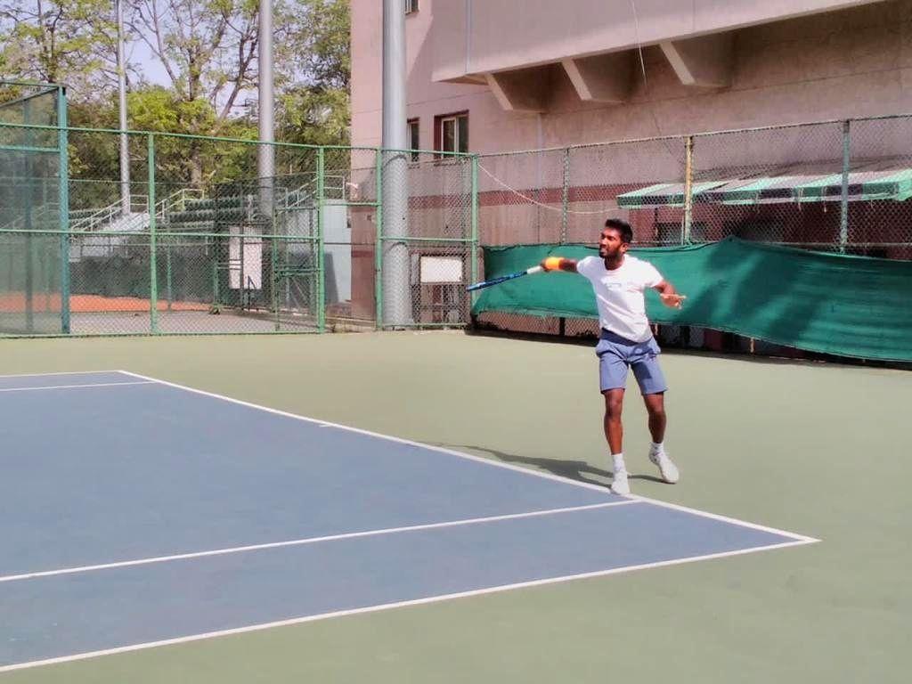 ITF New Delhi tennis: Poonacha, Qamar score wins