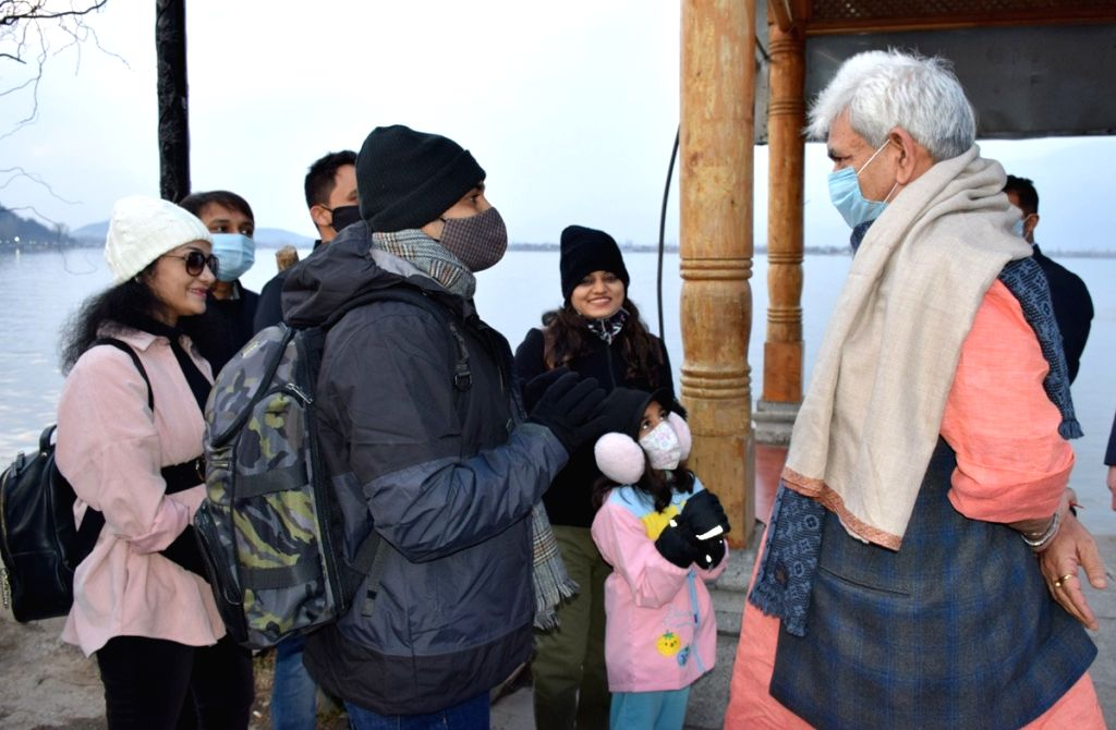 J&K Lieutenant Governor Manoj Sinha paid a visit to Dal Lake on Tuesday, where he met several tourists who came from different parts of the country. During his interaction with the tourists, the ... - Manoj Sinha