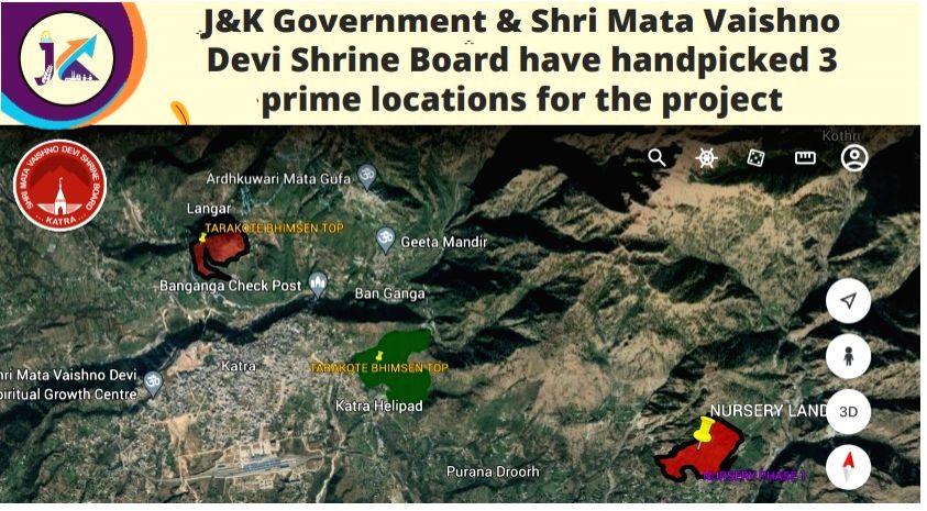 J&K's Dream Project: India???s best mythological theme park at Katra