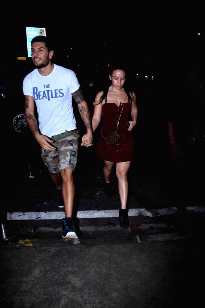 Jackie Shroff's daughter Krishna Shroff seen at Bandra in Mumbai on Sep 21, 2019.